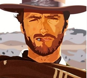 Clint Eastwood by Sally55